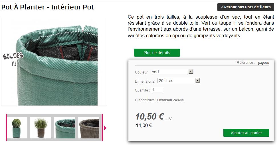Pot à planter - Intérieur Pot