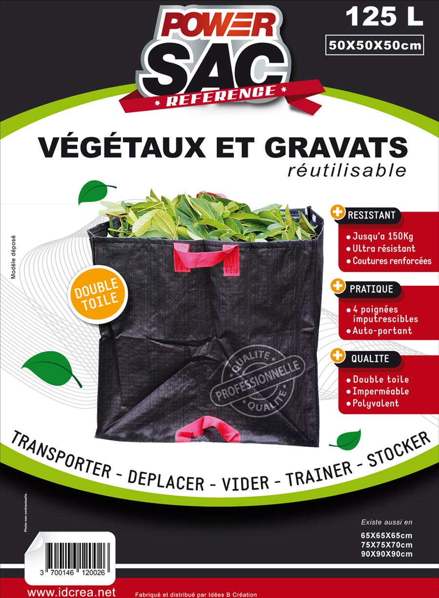 Sac Vegetaux et gravats