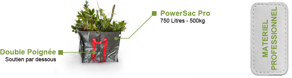 Sac PowerSac Pro 750 L 500kg